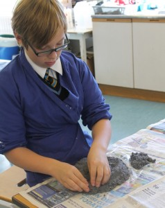 Challenge: For a possible 3 house points. Can you create a 'how to make paper Mache', instruction sheet for a beginner?